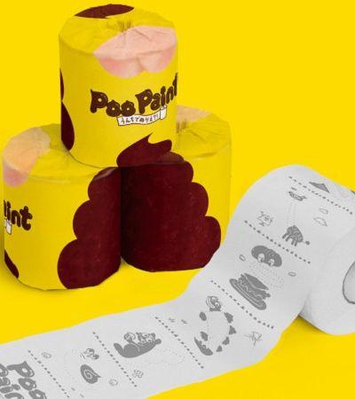 Papel higiênico que permite 'fazer arte com cocô' quer ajudar crianças a construir autonomia