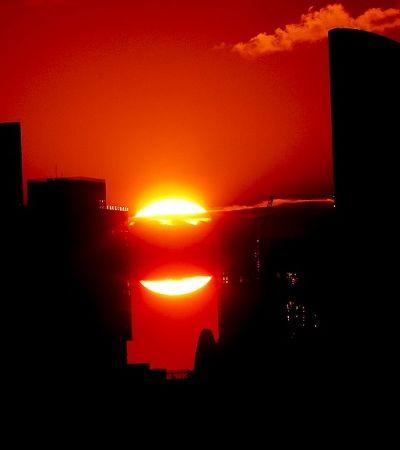 NASA simula como seria o pôr do sol em outros planetas