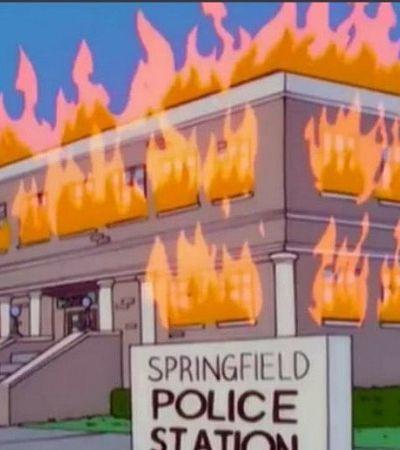 Mais uma vez os Simpsons previram tudo que está acontecendo nos EUA agora