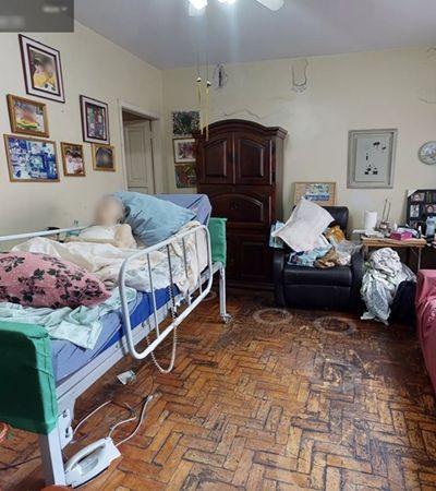 Apartamento com idosa acamada e perto da morte foi anunciado em perfil de startup de imóveis