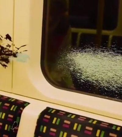 Banksy defende uso de máscaras na pandemia em intervenção artística no metrô de Londres