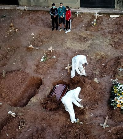 Secretário do Ministério da Saúde ignora 75 mil mortos e diz que Brasil é 'exemplo no mundo' no combate à covid-19
