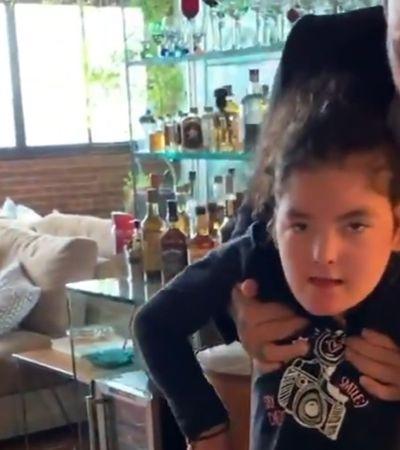 Paola Carosella vibra com passos da filha de Fogaça, que se trata com auxílio de canabidiol