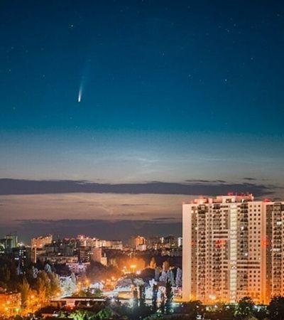 Cometa que rendeu imagens incríveis tem chances de ser visto no céu de estados do Brasil