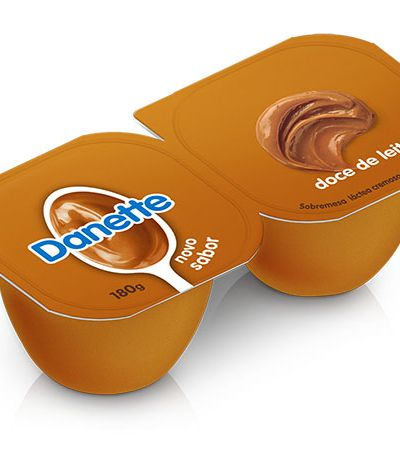 Chocolate e doce de leite reinam nos 3 novos sabores de Danette para o inverno