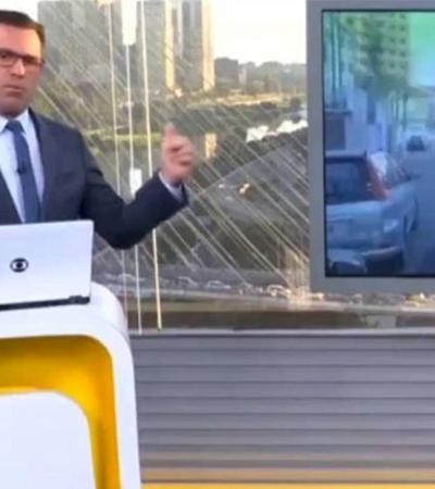 Rodrigo Bocardi contesta direito de greve e é surpreendido por resposta certeira de metroviário
