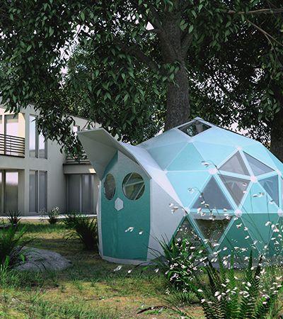 As moradias do futuro podem ser como essa mini casa zero carbono