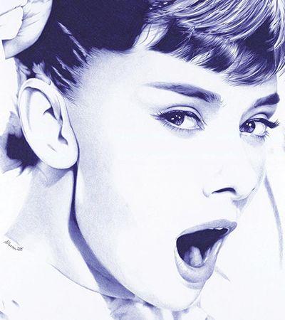 Desenhos hiper realistas feitos com caneta esferográfica que mais parecem fotografias