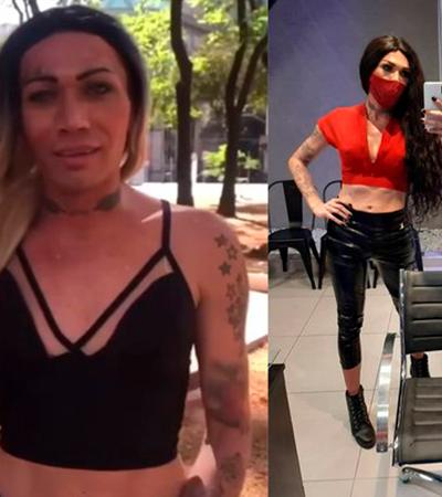 Trans que vivia nas ruas vibra ao ser contratada por salão de beleza: 'Corrente do bem'