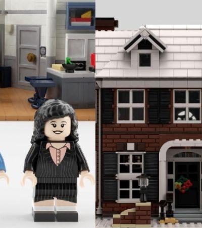 LEGO anuncia versões inspiradas em 'Esqueceram de Mim' e 'Seinfeld'
