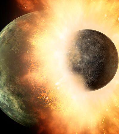 Lua é pelo menos 85 milhões de anos mais jovem do que se pensava, diz estudo