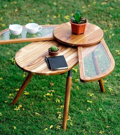 Essa mesa de café em forma de besouro é o móvel mais legal que você já viu