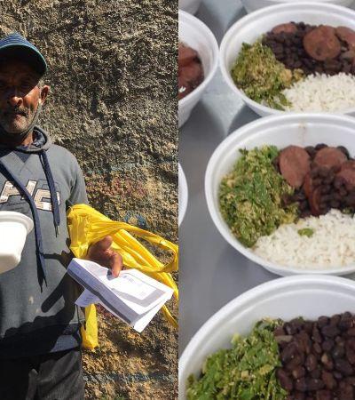 Refugiados e agricultores da zona sul de São Paulo se unem para alimentar comunidades vulneráveis