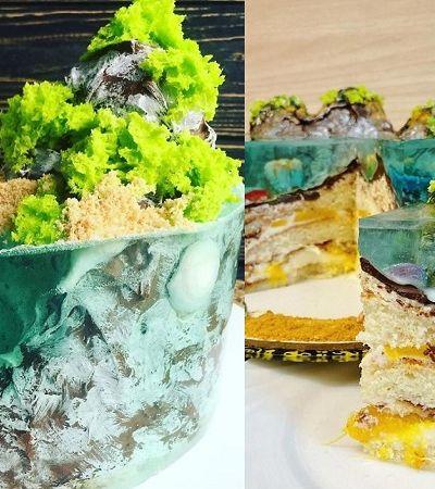Confeiteiros criam bolos com paisagens marítimas que são verdadeiras obras de arte
