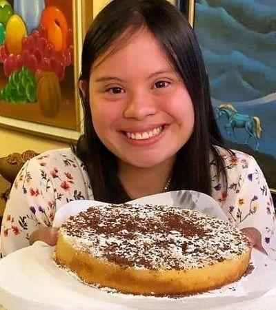 Evelyn Labanda: primeira apresentadora com síndrome de Down do Equador quer entrar para a TV aberta