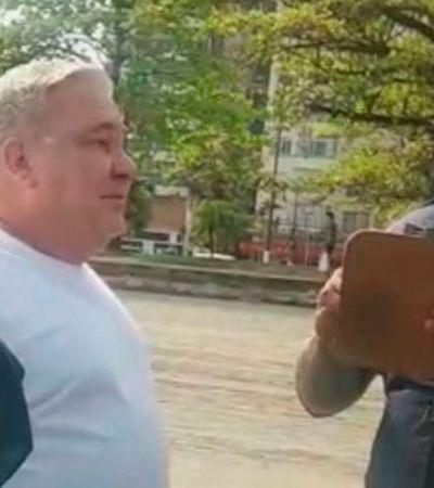 Guarda humilhado por carteirada de desembargador diz que não consegue dormir