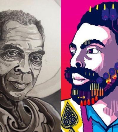 Gilberto Gil inspira hashtag no Instagram com artes visuais do Brasil inteiro