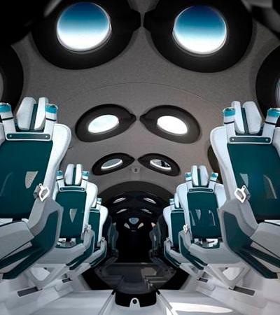 Conheça o interior da nave que vai levar turistas ao espaço e veja preço das passagens