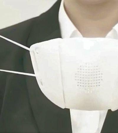 Japoneses criam máscara capaz de traduzir conversas em nove idiomas