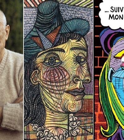 Como o amor por quadrinhos refletiu na obra e legado de Pablo Picasso