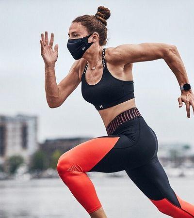 Under Armour lança máscara especial para atletas fazerem exercício