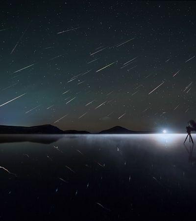 Nasa transmite na madrugada maior pico de estrelas cadentes do ano e espera 15 meteoros por hora