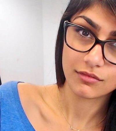 Mia Khalifa arrecada R$ 500 mil com venda de óculos para ajudar vítimas de explosão no Líbano