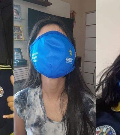 Governo do Amazonas vira piada com máscara contra coronavírus do tamanho de um shorts