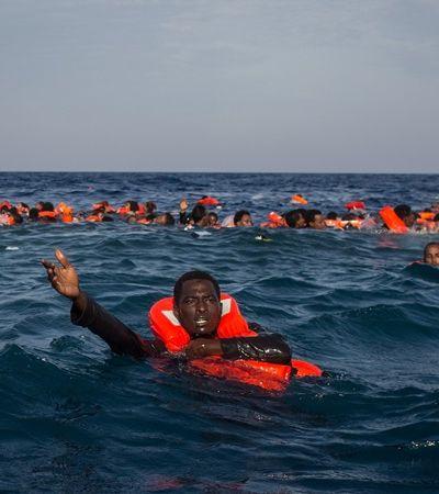 Grécia comete crime humanitário ao jogar mais de 1 mil imigrantes e refugiados ao mar