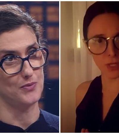 Paola Carosella se impressiona com sátira feita por atores casados no 'Zorra' da quarentena