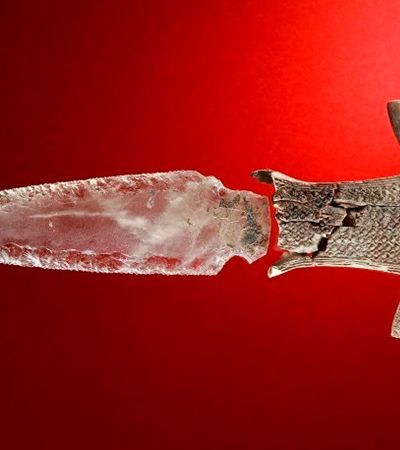A incrível adaga de cristal pré-histórica descoberta na Espanha
