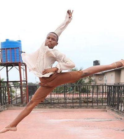 Bailarino nigeriano de 11 anos ganha bolsa de estudos internacional graças a video viral
