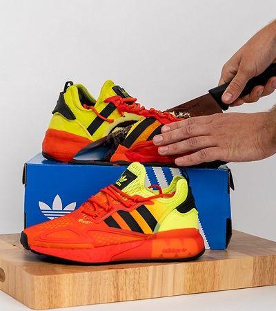 Adidas lança tênis em formato de 'bolo comestível' em nova campanha
