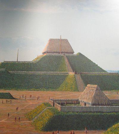 Com 1000 anos, maior cidade pré-colombiana da região dos EUA fica sob a cidade St Louis