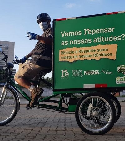 ONG desenvolve carroça e triciclos elétricos para catadores de recicláveis