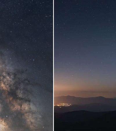 Fotógrafo capta imagens de cometa raro que só aparece a cada 6,8 mil anos