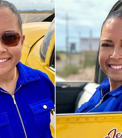 Jessica Cox, a história inspiradora da primeira piloto de avião sem braços