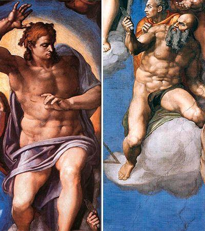 """As polêmicas e controvérsias por trás de 'O Juízo final"""", de Michelangelo"""