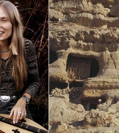 As cavernas hippies de Mátala que abrigaram Joni Mitchell nos anos 1960
