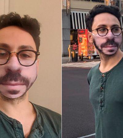 Pessoas fizeram máscaras com estampas de seus próprios rostos – e o resultado é hilário