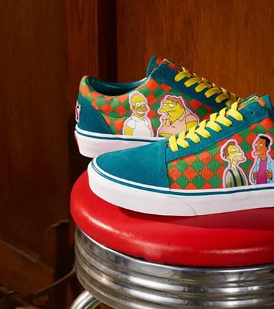 Vans lança coleção incrível de tênis e roupas de 'Os Simpsons'; veja fotos