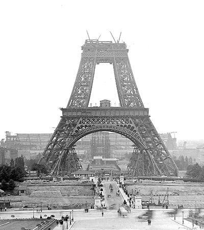 A história de alguns projetos concorrentes da Torre Eiffel