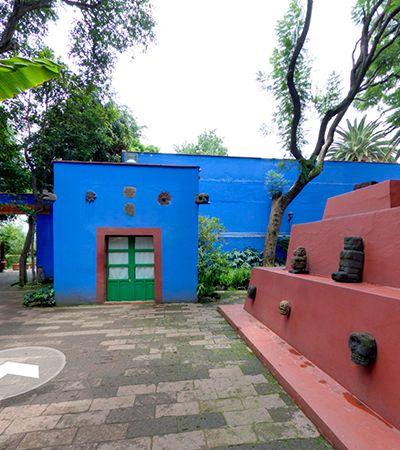 Casa Azul de Frida Kahlo 'abre as portas' para visitas virtuais