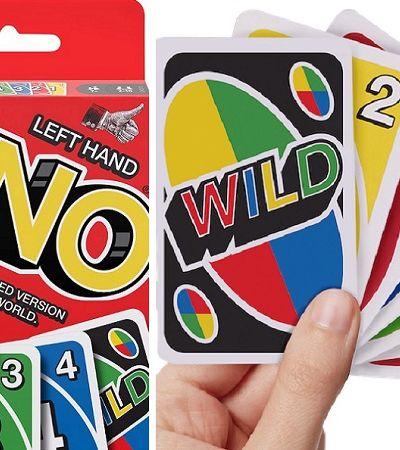 Uno para canhotos: jogo de cartas quebra tudo e lança versão 'reversa' com baralho invertido
