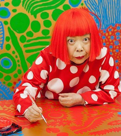 Yayoi Kusama: a história da artista mais popular do mundo vai virar HQ