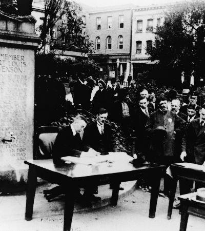 A liga antimáscara que protestou durante epidemia de gripe de 1918