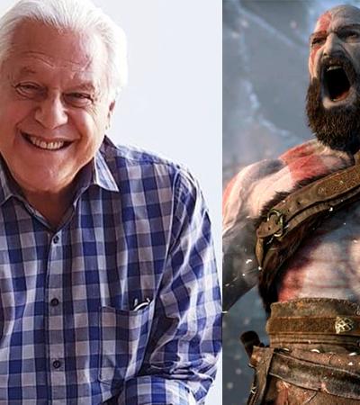 Antônio Fagundes admite que ficou 1 semana sem dormir jogando 'God of War'