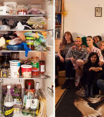 Projeto registra 15 geladeiras de pessoas de diferentes lugares do mundo