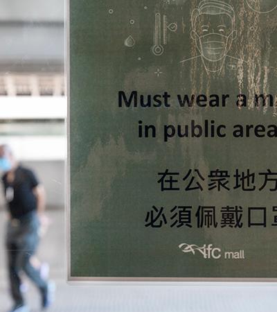 Hong Kong investiga 1º caso de reinfecção por coronavírus e analisa duração de imunidade