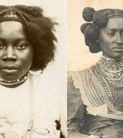 Registros estonteantes dos penteados das mulheres malgaxes no início do século 20